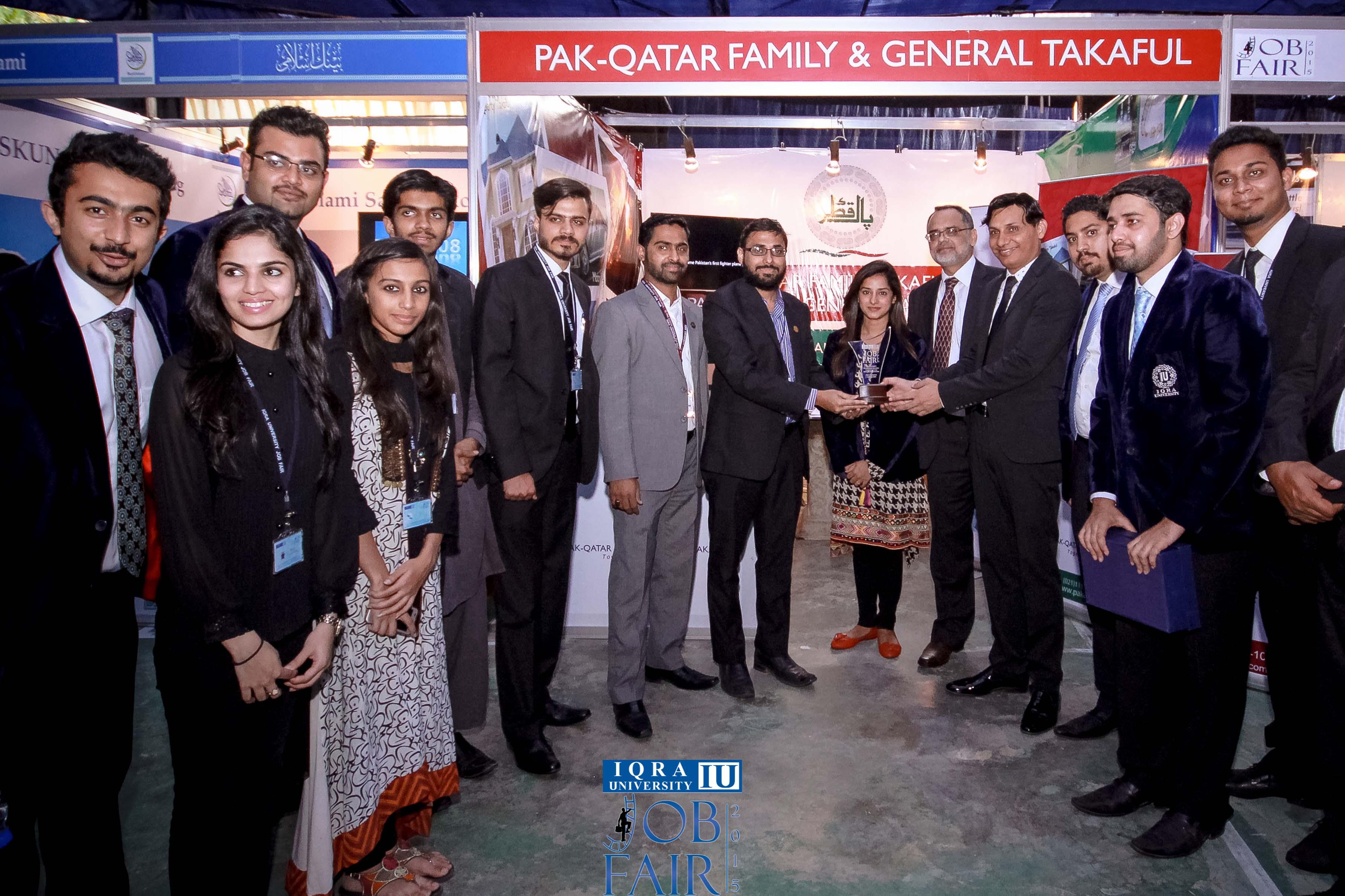 Pak-Qatar Takaful Group Participates in IQRA Annual Job Fair 2015