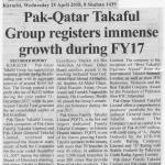 Business Recorder - Karachi : April 25, 2018
